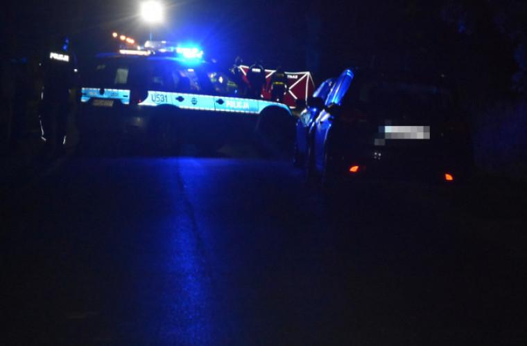Wypadek śmiertelny w Baszkowie. Rowerzysta nie żyje [ZDJĘCIA] - Zdjęcie główne