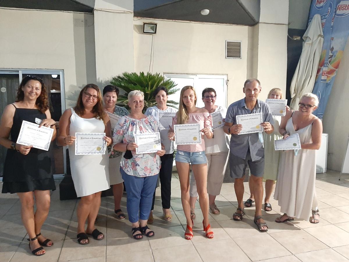 Nauczyciele z Koźmina Wlkp. szkolili się na Malcie [ZDJĘCIA] - Zdjęcie główne
