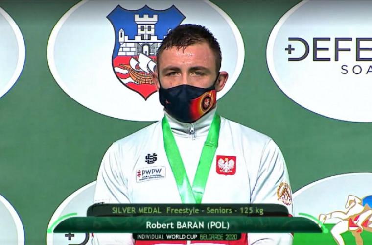 Robert Baran z Krotoszyna srebrnym medalistą Pucharu Świata - Zdjęcie główne