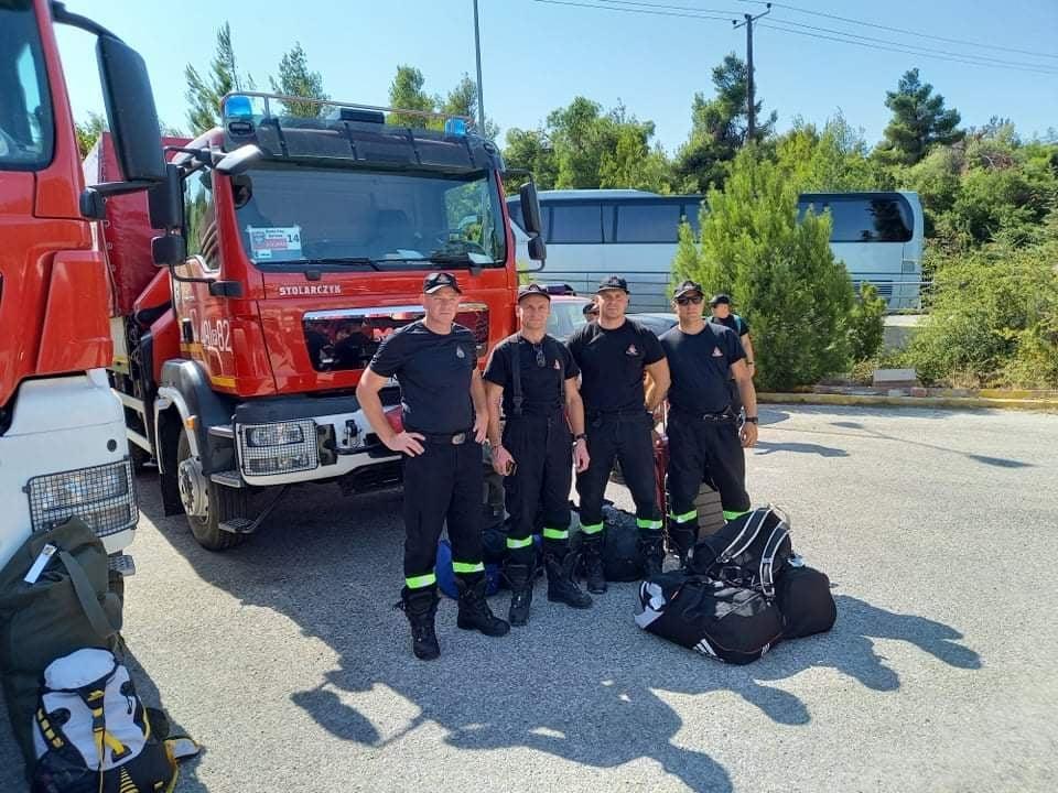 Kolejni strażacy z Krotoszyna będą walczyć z pożarami w Grecji - Zdjęcie główne