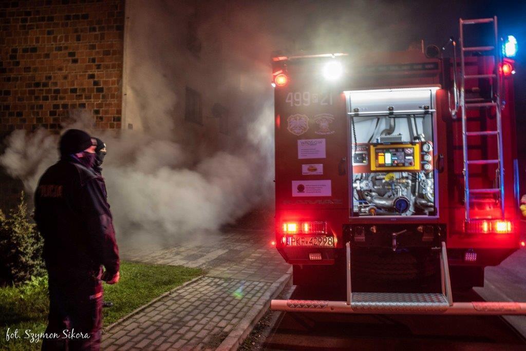 Pożar w Orli - Zdjęcie główne