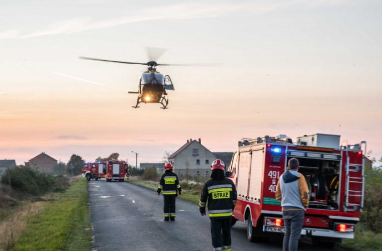 Wypadek w Psim Polu. Matka z dwójką dzieci trafiła do szpitala [FOTO] - Zdjęcie główne