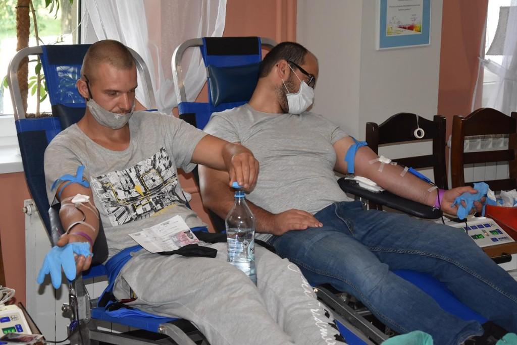 Akcja poboru krwi w Koźminie Wlkp. - Zdjęcie główne