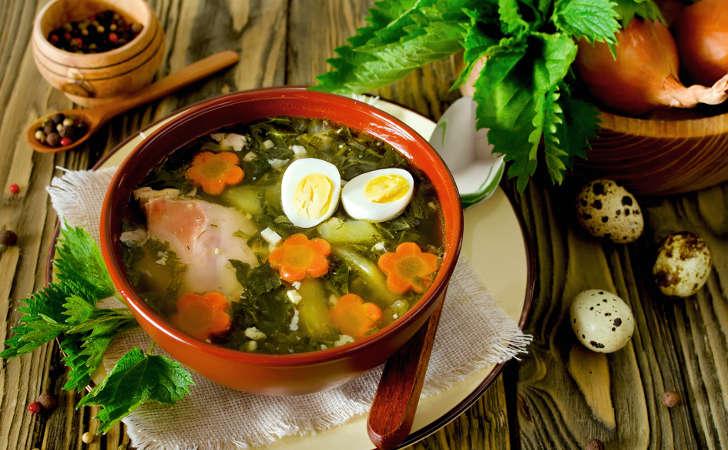 Zupa szczawiowo-pokrzywowa - Zdjęcie główne