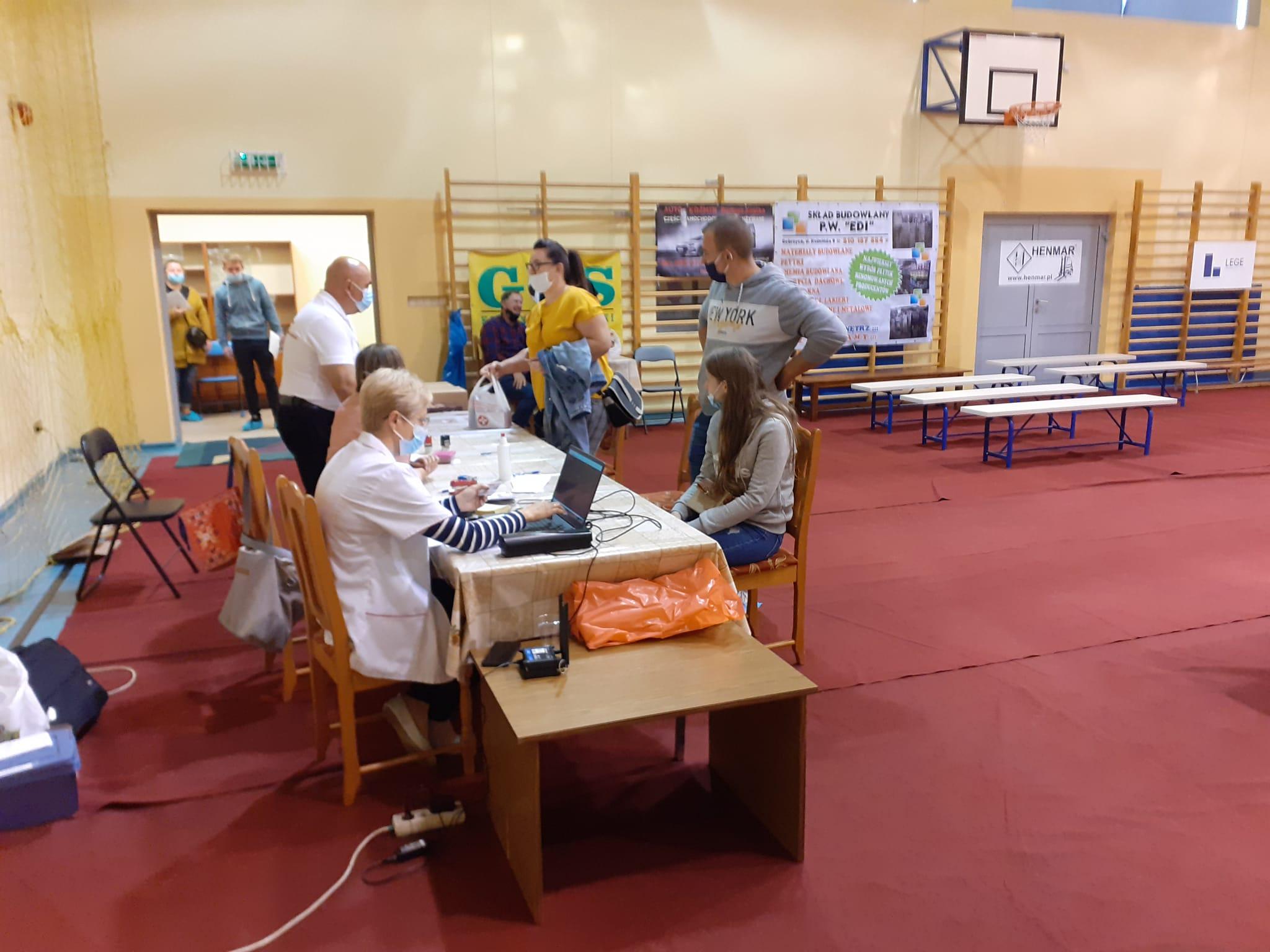 Akcja poboru krwi w Koźminie Wlkp. [ZDJĘCIA] - Zdjęcie główne