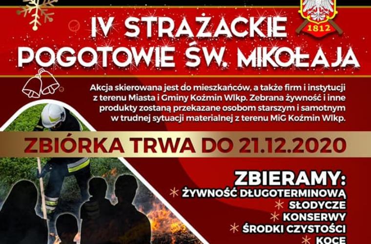 Strażackie Pogotowie Świętego Mikołaja w Koźminie Wlkp. - Zdjęcie główne