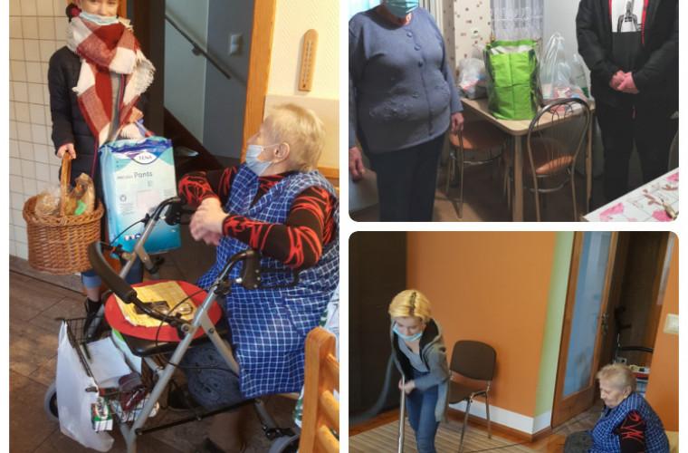 Krotoszyn. Roksana i Michał pomogli seniorom - Zdjęcie główne