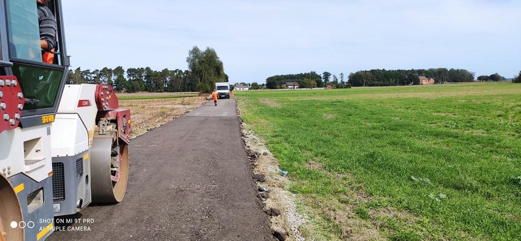 Remont dróg w gminie Krotoszyn - Zdjęcie główne
