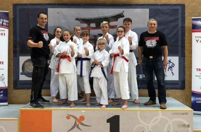 Zduny. Kolejny start i kolejny sukces karateków Shodana [FOTO] - Zdjęcie główne