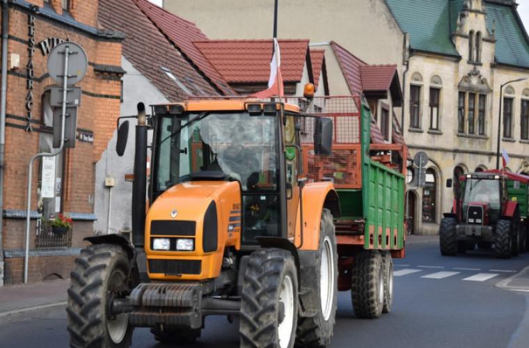 Powiat krotoszyński. Rolnicy znów wyjechali na drogi. Zablokują Krotoszyn! - Zdjęcie główne