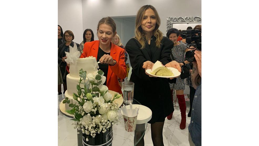 Maja Sablewska na urodzinach salonu Dori Diamond  - Zdjęcie główne