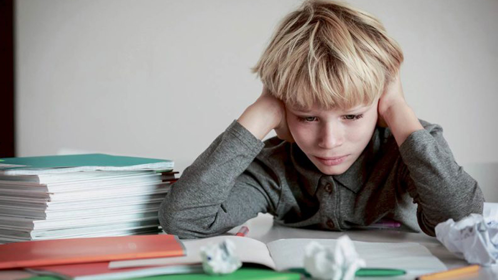 Jak rozładować stres u dziecka - Zdjęcie główne