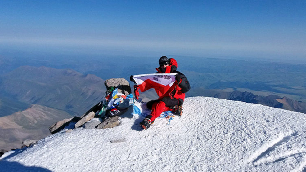 Zdobyła Elbrus – jeden z najwyższych szczytów Kaukazu - Zdjęcie główne