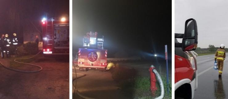 Zauważyli płomienie i wezwali pomoc. Pożary w Trzeboszu i Sierakowie - Zdjęcie główne