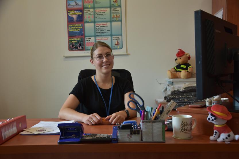 Pani strażak. Marta Zajczewska - o pasji do munduru i nie tylko - Zdjęcie główne