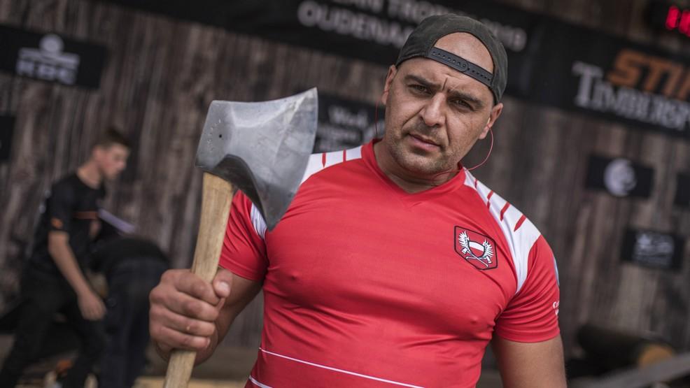 Michał Dubicki walczył o mistrzostwo świata w Stihl Timbersports  - Zdjęcie główne