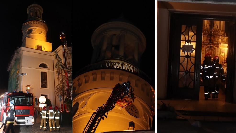 To nie były ćwiczenia. Akcja strażaków w kościele pw. św. Andrzeja Boboli [ZDJĘCIA] - Zdjęcie główne
