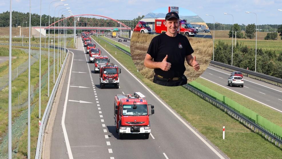 Polacy już w Grecji. Wśród nich jest strażak z Chojna - Zdjęcie główne