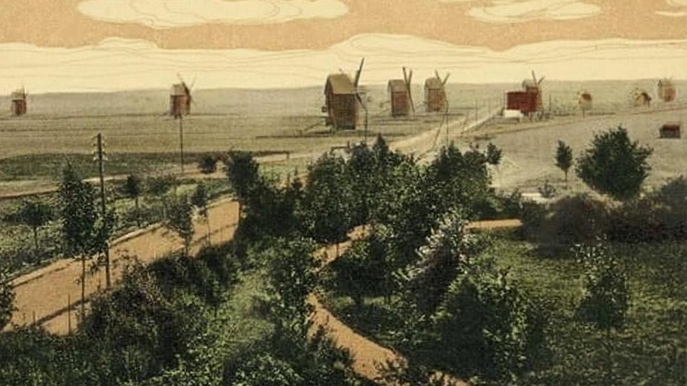 Rawicz - według legendy, miasto 99. wiatraków  - Zdjęcie główne
