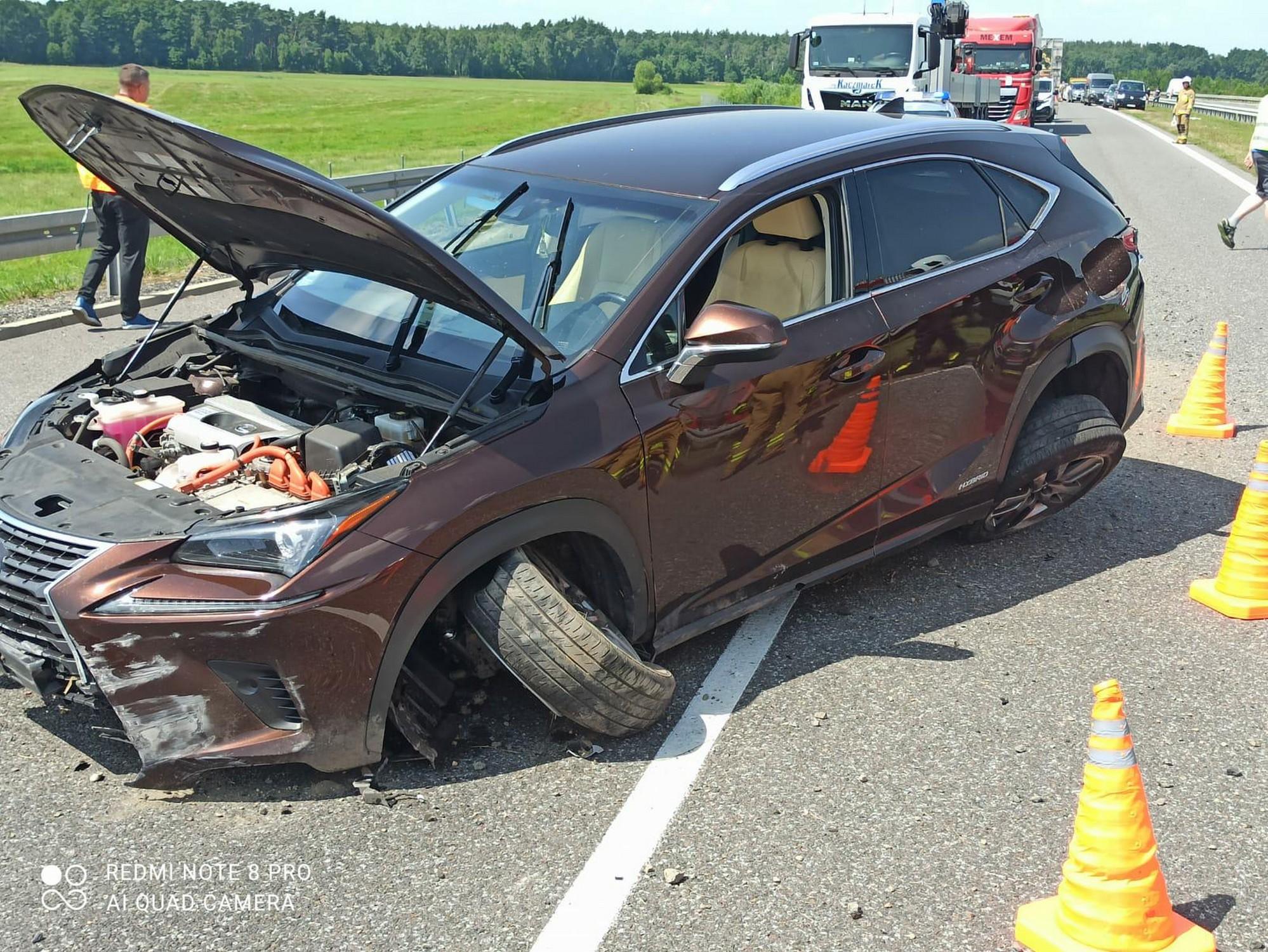 Wypadek na S5, na odcinku Rawicz-Bojanowo - Zdjęcie główne