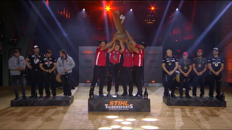 European Nations Cup Stihl Timbersports®. Polacy nie mieli sobie równych - Zdjęcie główne