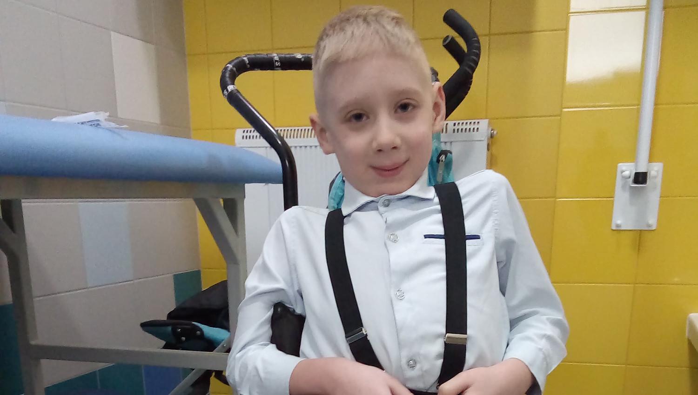 Dominik potrzebuje nowego wózka i sprzętu rehabilitacyjnego - Zdjęcie główne