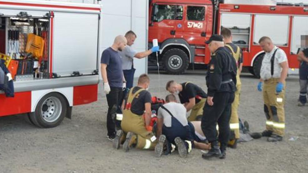 Pół godziny walki o życie. Dzięki właściwej reakcji pracownika, udało się uratować 56-latka  - Zdjęcie główne