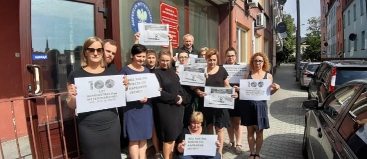 Strajkują pracownicy inspekcji weterynaryjnej - Zdjęcie główne