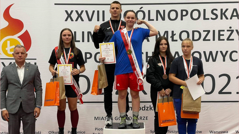 Sukces kadetki. Aleksandra Jankowiak mistrzynią Polski  - Zdjęcie główne