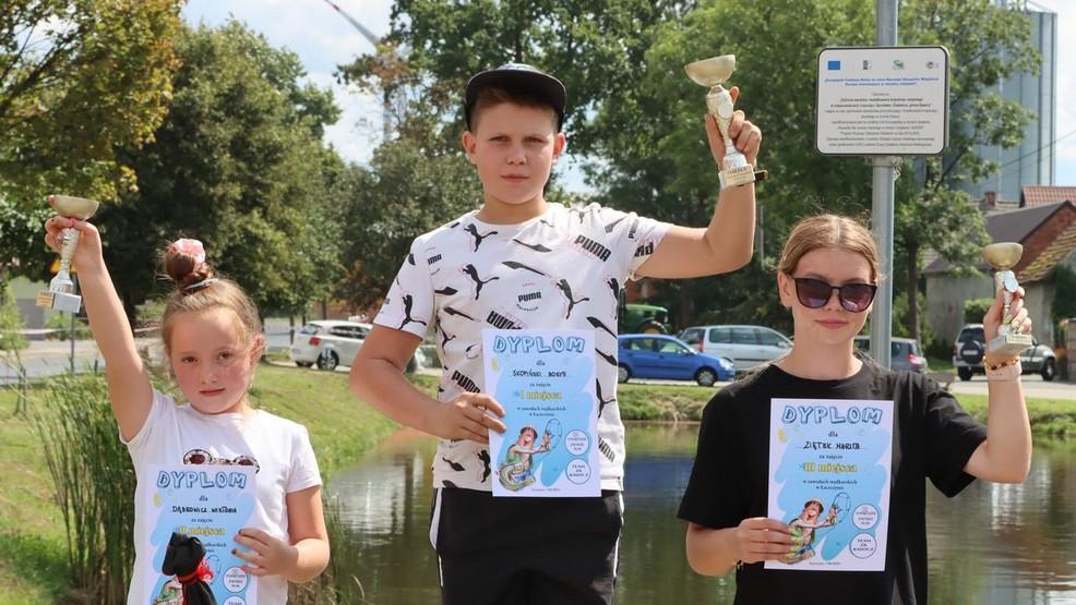 Zawody wędkarskie w Łaszczynie. Młodych uczestników nie brakowało [ZDJĘCIA] - Zdjęcie główne