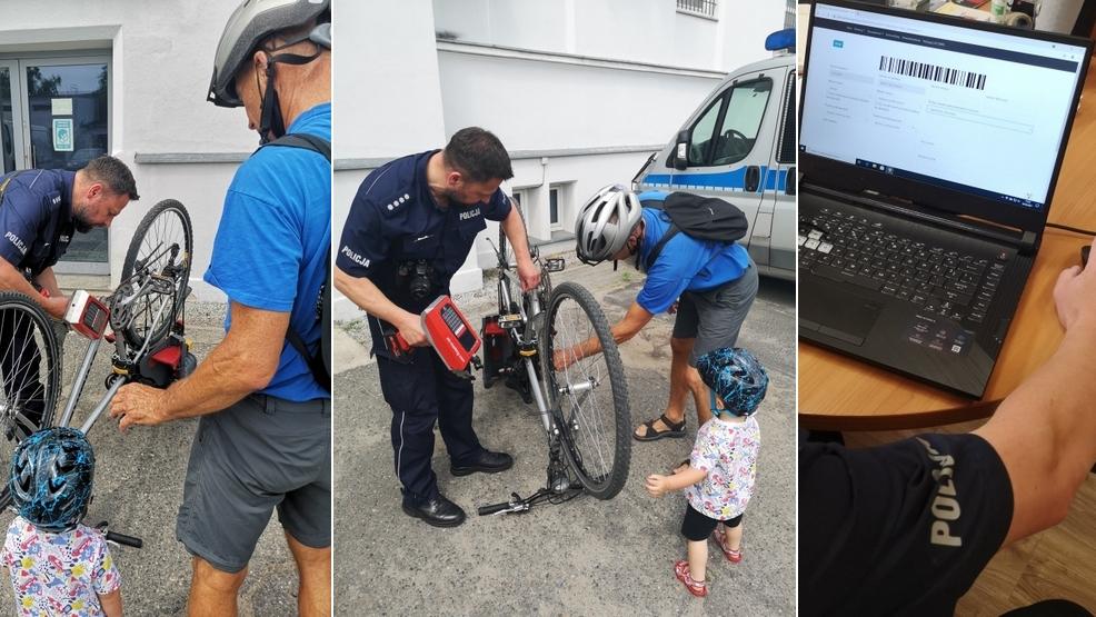 Rawicz. Policjanci będą znakować rowery. Na czym polega akcja, gdzie się zapisać? [AKTUALIZACJA] - Zdjęcie główne
