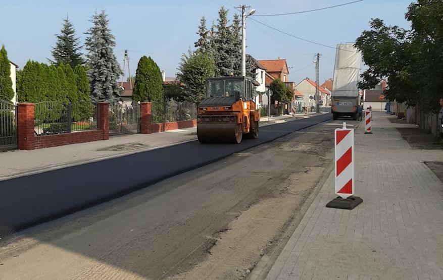 Kolejna drogowa inwestycja w Miejskiej Górce - Zdjęcie główne
