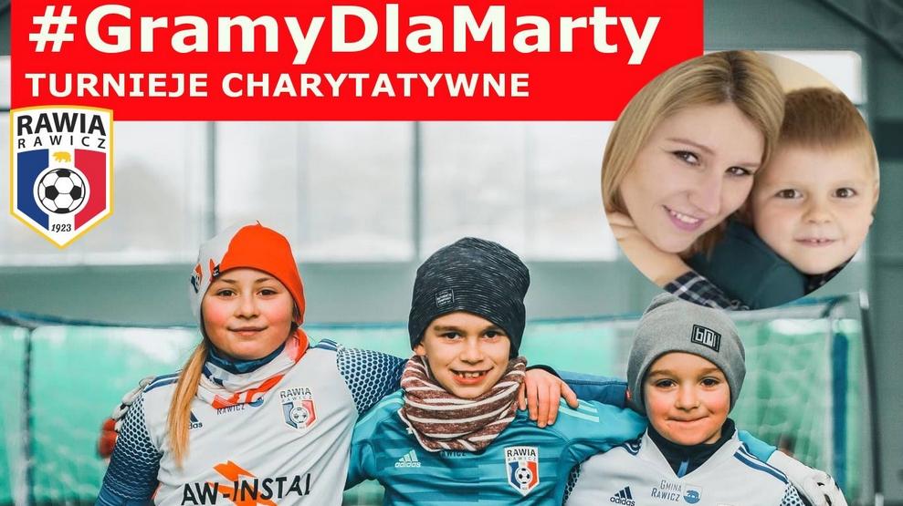 Piłkarska Rawia organizuje turniej charytatywny [AKTUALIZACJA] - Zdjęcie główne