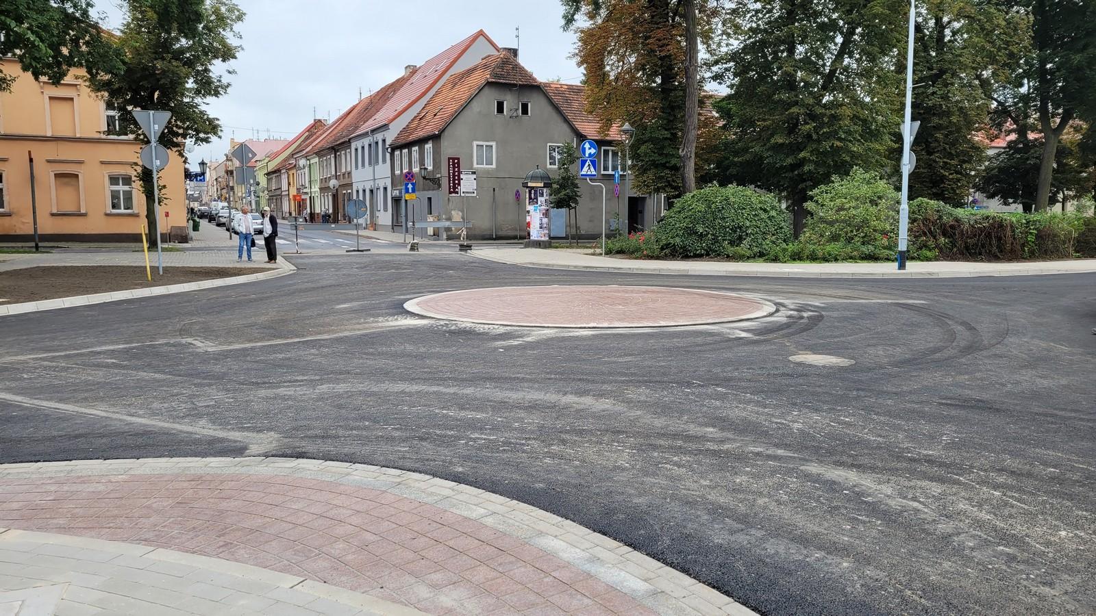 Rondo w centrum oddane do użytku - Zdjęcie główne