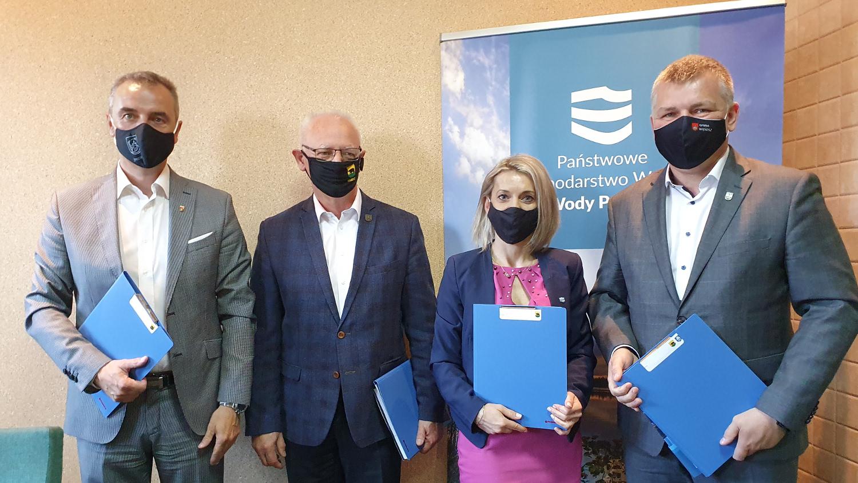 Podpisali porozumienie w sprawie zbiornika na Masłówce - Zdjęcie główne