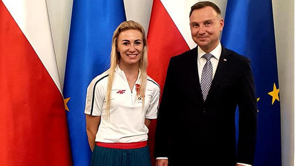 Karolina Kucharczyk odznaczona przez prezydenta - Zdjęcie główne