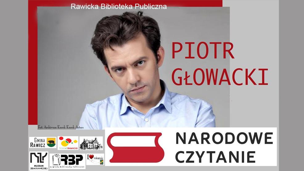 Jubileuszowe Narodowe Czytanie na rynku w Rawiczu - Zdjęcie główne