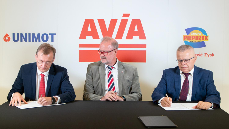 Grupa Pieprzyk dołączyła do sieci stacji paliw Avia - Zdjęcie główne
