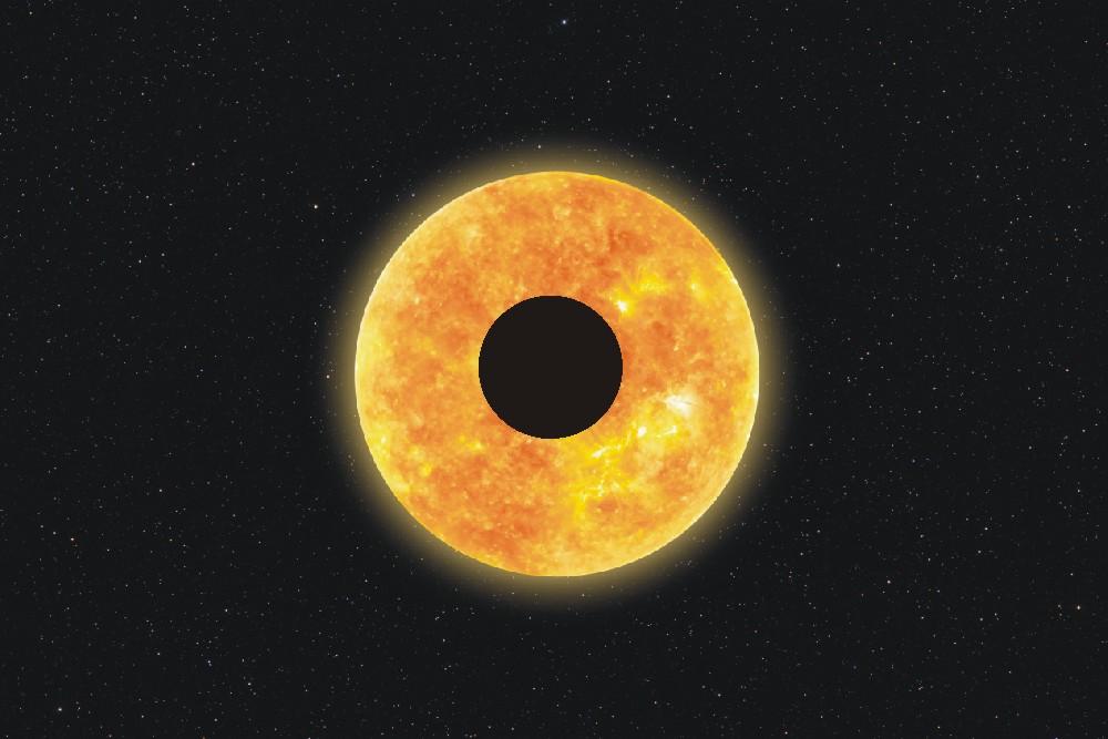 Dziś zaćmienie Słońca. Gwiazda zamieni się w ognisty pierścień - Zdjęcie główne