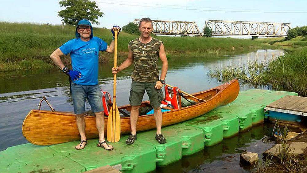 Rawiczanin płynie kajakiem do Bałtyku - Zdjęcie główne