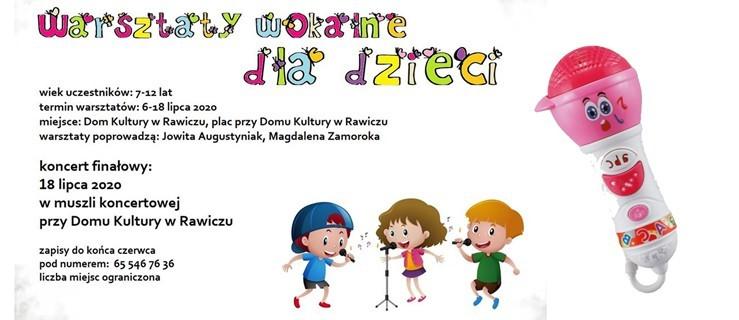 Zapisy na warsztaty wokalne dla dzieci - Zdjęcie główne