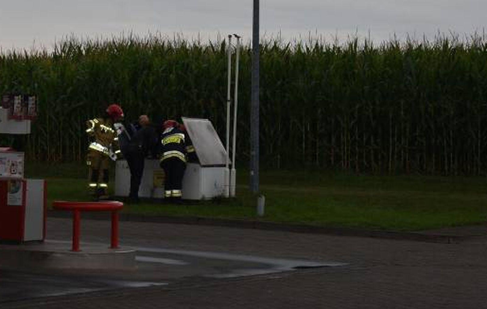 Chocz. Wyczuwalny gaz na stacji paliw. W akcji straż pożarna [AKTUALIZACJA] - Zdjęcie główne