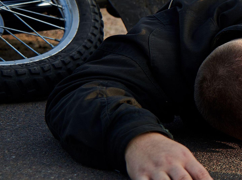 Gmina Gizałki. 46-latek wywrócił się na motorze. Był kompletnie pijany - Zdjęcie główne