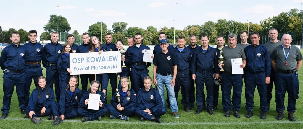 Sukces OSP Kowalew na Wojewódzkich Zawodach Sportowo-Pożarniczych - Zdjęcie główne