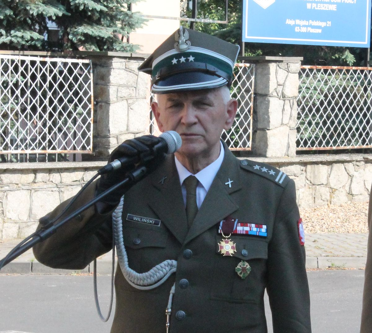 Pułkownik Ryszard Wiliński prezesem Wielkopolskiej Ligi Obrony Kraju - Zdjęcie główne