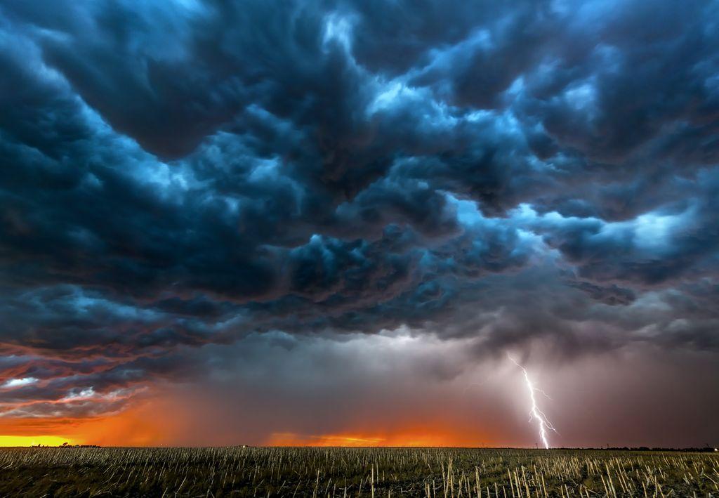 IMGW ostrzega przed burzami i silnym wiatrem - Zdjęcie główne