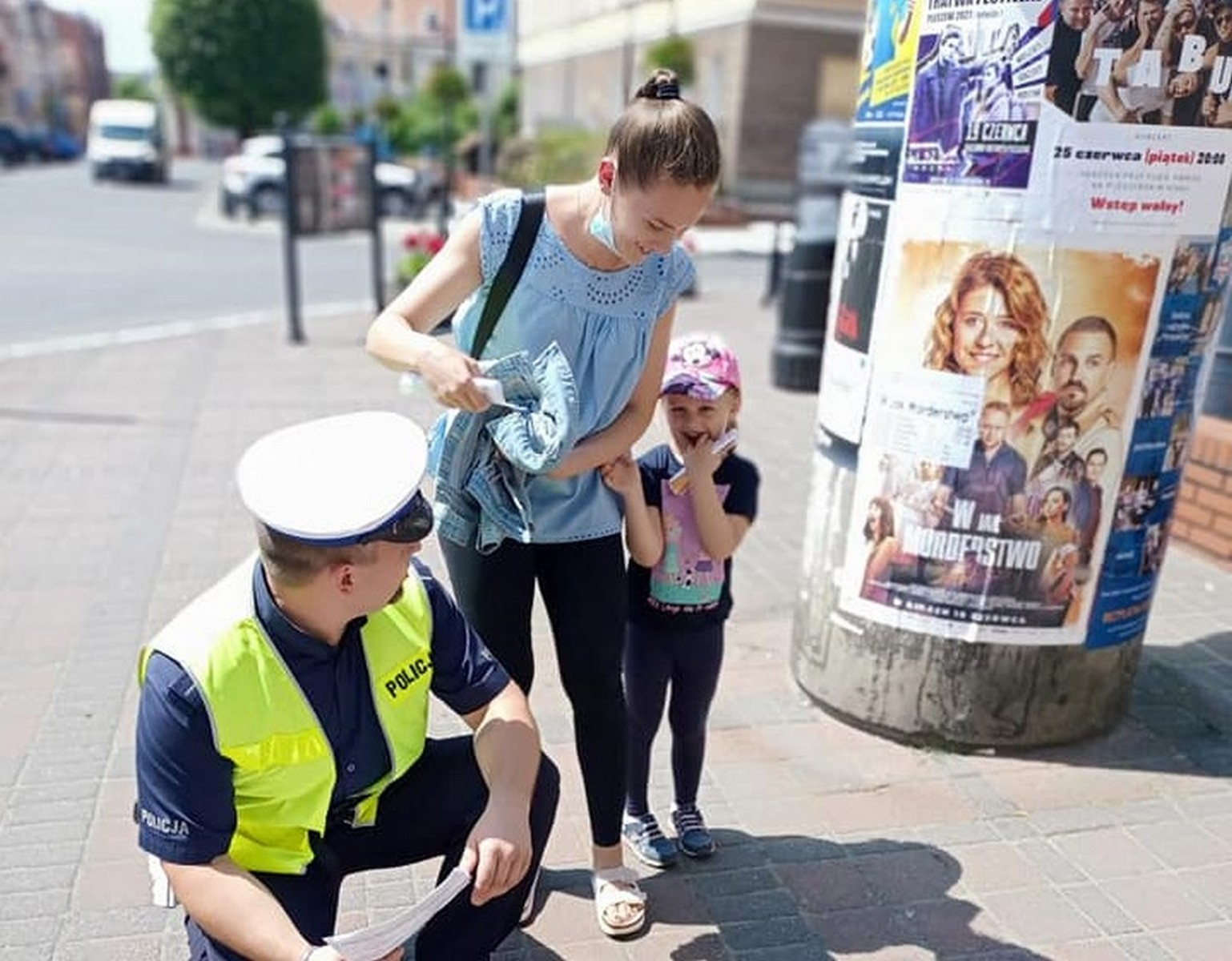Pleszew. Policja sprawdza zachowanie pieszych - Zdjęcie główne