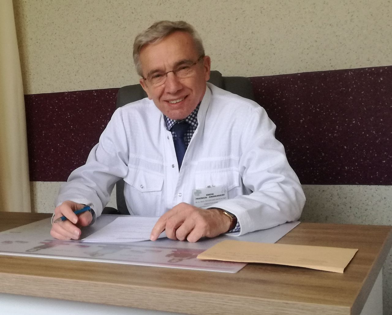Zostałem zaszczepiony przeciwko COVID-19, czuję się dobrze – mówi dr Ryszard Bosacki  - Zdjęcie główne