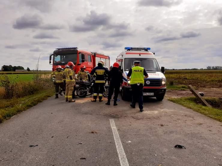 Poważny wypadek. Mieszkance powiatu pleszewskiego zatrzymano prawo jazdy - Zdjęcie główne