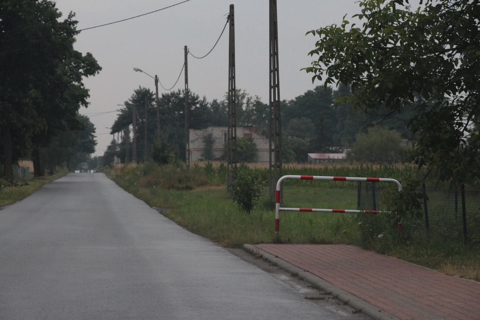 Gmina Czermin. Czy w Wieczynie zbudują upragniony chodnik? - Zdjęcie główne